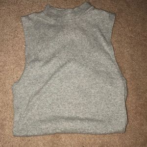 Grey tank top body suit